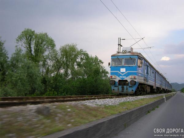 Поезд прага подгорица